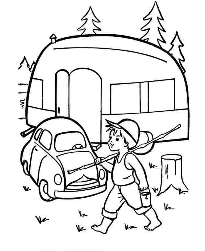 Camping Coloring Sheets Free Camping Coloring Pages Free Kids Coloring Pages Coloring Pages