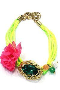 neon groen armband