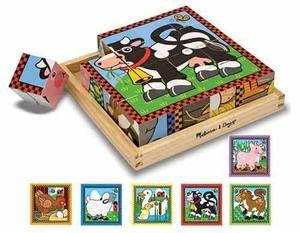 Melissa&Doug, casse-tête Puzzle Cube 3D, La Ferme, 3+ans, 16.99$. Disponible dans la boutique St-Sauveur (Laurentides) Boîte à Surprises, ou en ligne sur www.laboiteasurprises.ca... sur notre catalogue de jouets en ligne, Livraison possible dans tout le Québec($) 450-240-0007 info@laboiteasurprisesdenicolas.ca