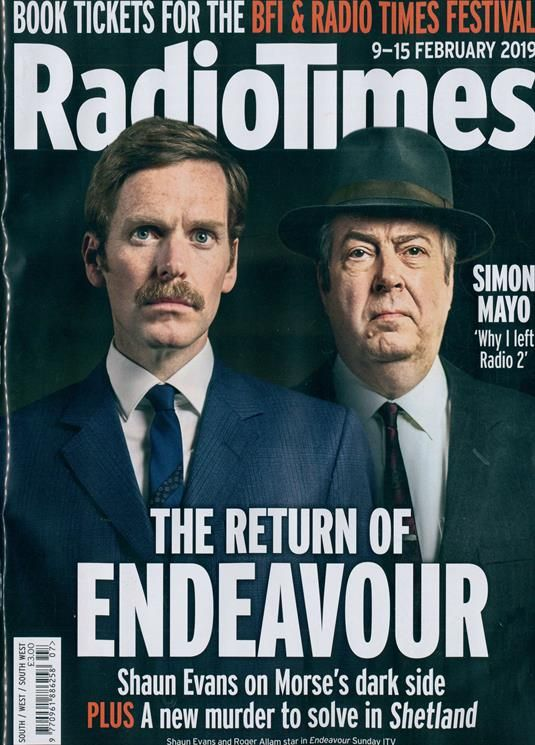 Radio Times South Magazine Subscription   Buy at Newsstand co uk