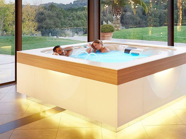 Die 25+ Besten Ideen Zu Badezimmer Jacuzzi Auf Pinterest ... Luxus Badezimmer Mit Whirlpool