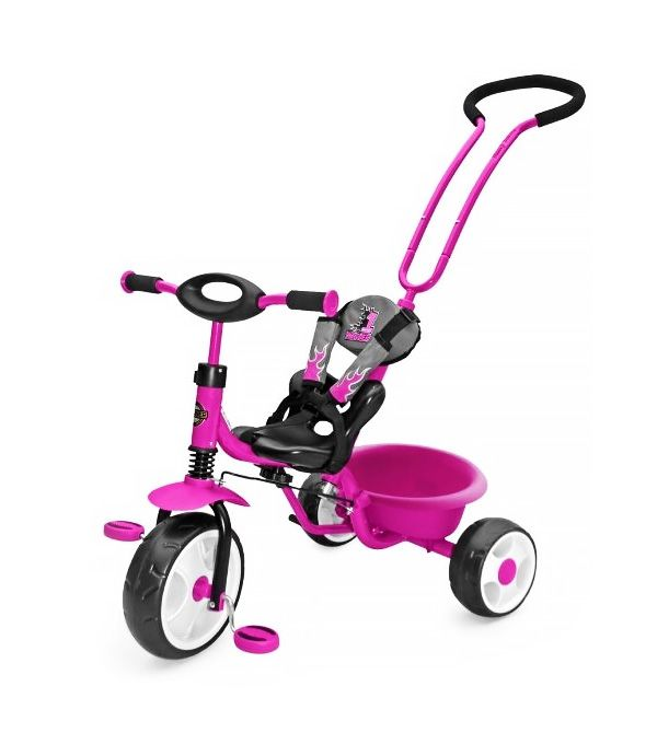 Solidny i bezpieczny rowerek wyposażony w chroniące dziecko pasy. Sprawdź na www.supermisio.pl  #supermisiopl #rowerki #MIlly_Mally