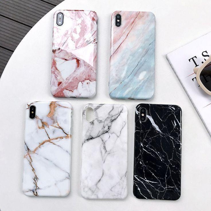 Tzomsze Luxury Marble Phone Case For iPhone X XS XR MAX 7 6 6S 8 Plus Case For iPhone 7 Case Cover 8Plus 7Plus Coque Fundas