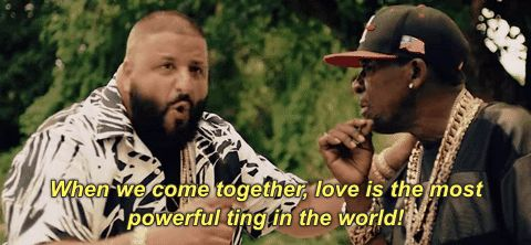 love unity dj khaled nas ox nas album done when we come together love is the most powerful thing in the world #humor #hilarious #funny #lol #rofl #lmao #memes #cute