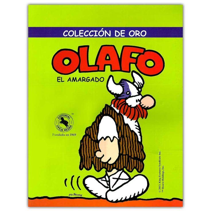 Colección de oro. Olafo el amargado – Dik Browne - Oveja Negra  http://www.librosyeditores.com/tiendalemoine/4143-olafo-el-amargado-coleccion-de-oro-9789580612230.html  Editores y distribuidores