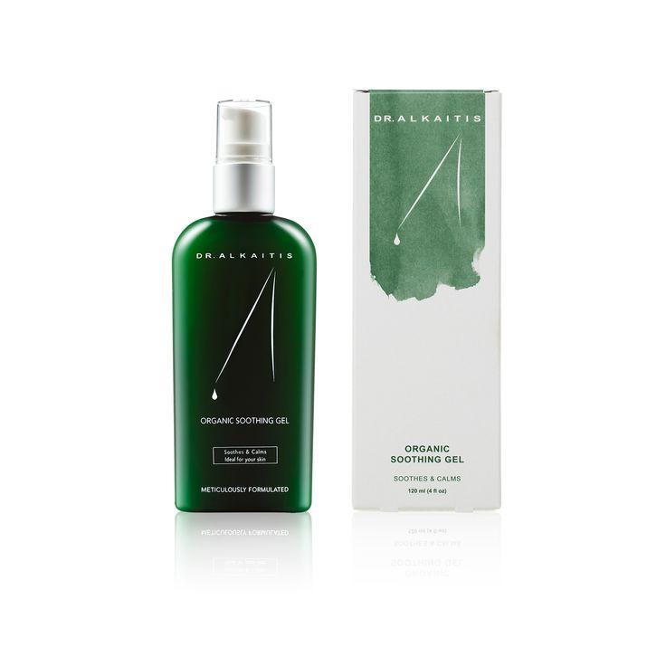 Dr. Alkaitis Organic Soothing Gel | A facial moisturizer. 100% natural calming tonic for sensitive skin.