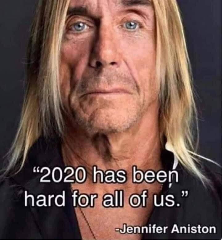 2020 Hard For Jennifer Aniston Jennifer Aniston Humor Inspirational Memes