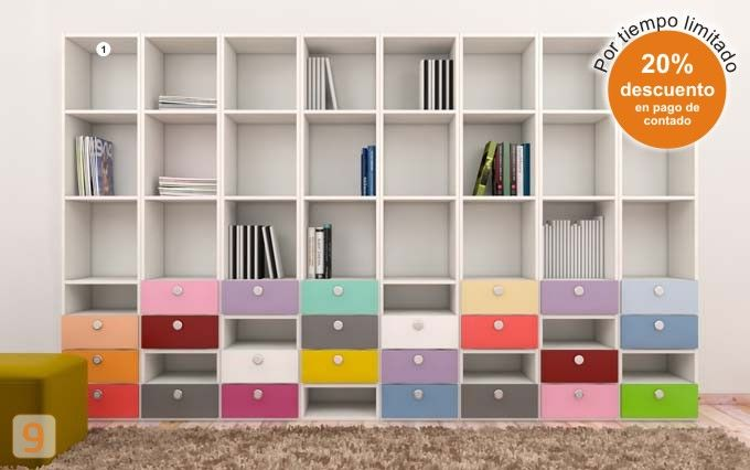 This is such a fun bookcase! And easy to replicate :)