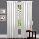 Lush Decor Venetian Curtain Panel, White