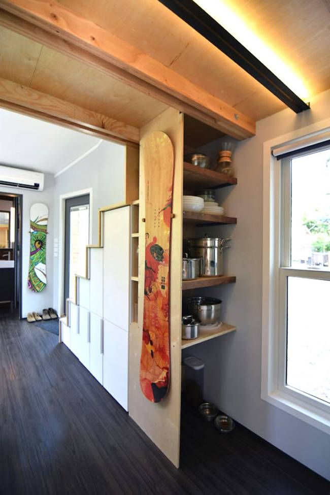 Couple builds their own adventurous 204 sq. ft. modern shed home