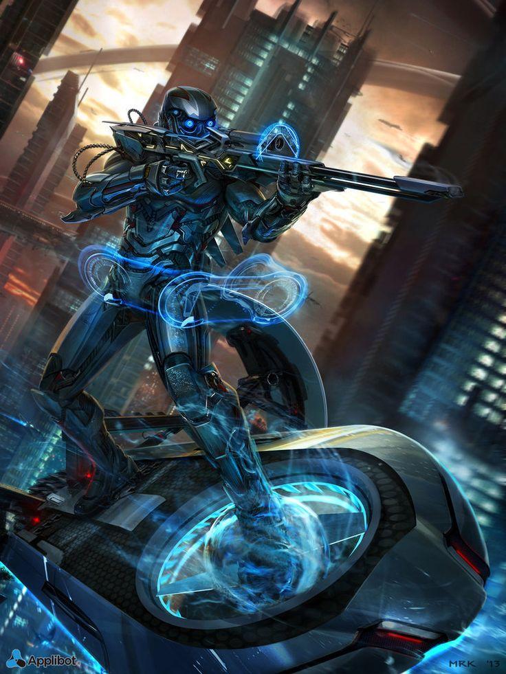 Cyborg Sniper by Bogdan-MRK on DeviantArt