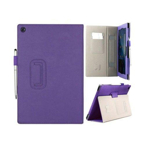 Alpha (Violetti) Sony Xperia Tablet Z Nahkakotelo