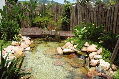 lagos artificiais com cascatas - Pesquisa Google