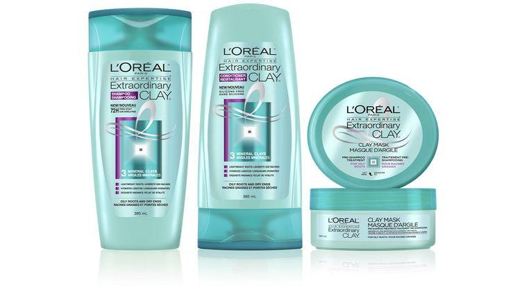 L Oreal Elseve Extraordinary Clay Loreal Pre Shampoo Treatment Loreal Paris
