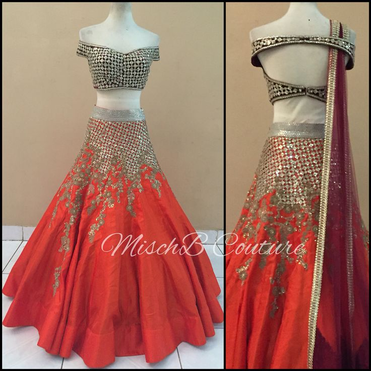 A Mirror Story, lehenga by MischB Couture