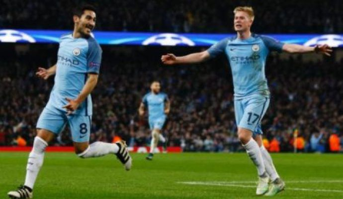 Raheem Sterling scored a second-half winner as Manchester City came from a goal down to defeat Arsenal at Etihad Stadium. The result takes City up to