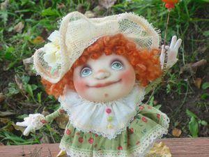 Как сшить каркасную текстильную куколку в смешанной технике | Ярмарка Мастеров - ручная работа, handmade