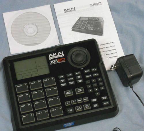 akai professional xr20 beat production station drum machine