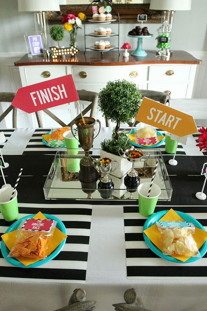 Lily's Amazing Race 13th Birthday Party (With Free Printables!)
