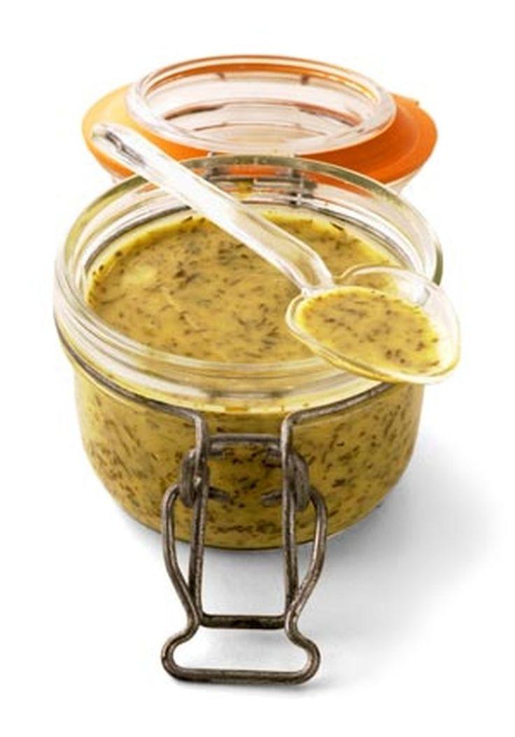 Sauce Moutarde à l'aneth (pour Gravlax de saumon)