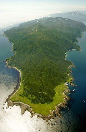 世界自然遺産・知床を上空から見る。知床の見所!