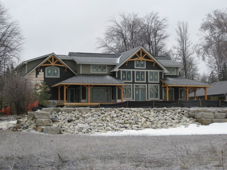 Almost completed home by Integrity on Wasaga Beach, Ontario