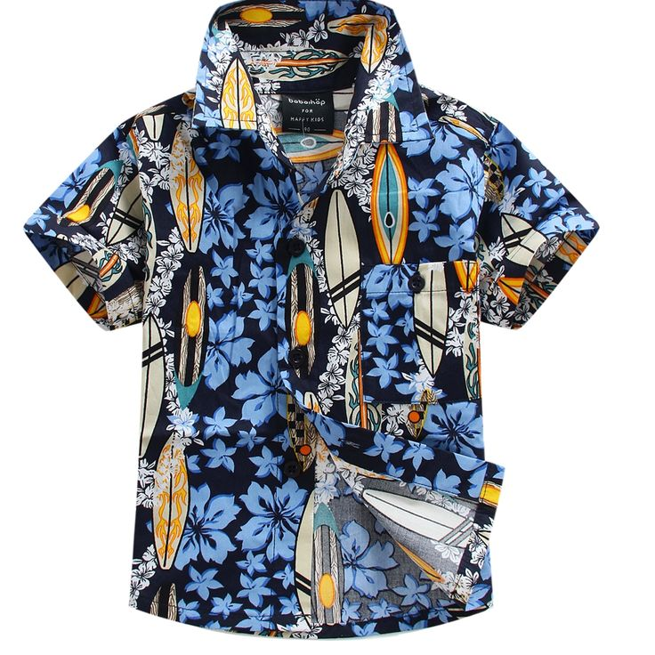 >> Click to Buy << 2016 new arrival cotton 100% floral shirt hawaiian shirt aloha shirt for boy T1537 #Affiliate