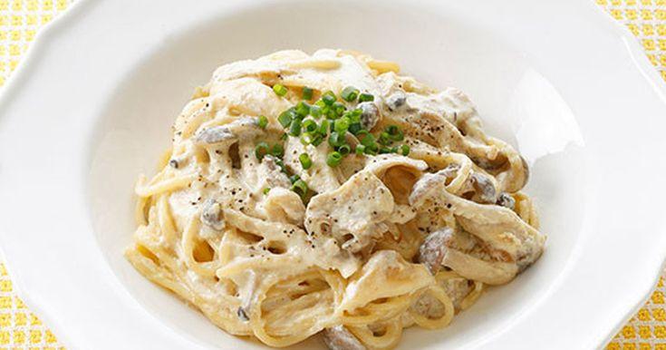 2種のきのこの味噌マヨクリームパスタ by キユーピー野菜レシピ 【クックパッド】 簡単おいしいみんなのレシピが278万品