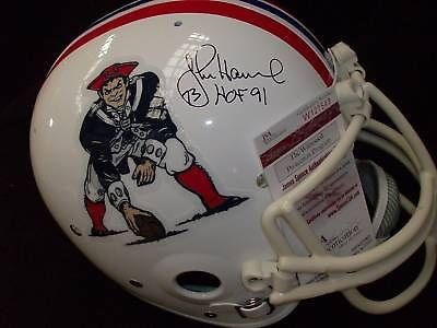 John Hannah New England Patriots Helmets