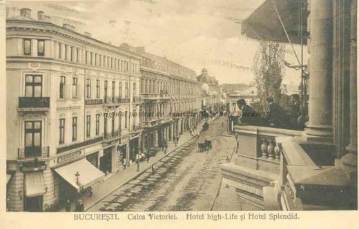 BU-F-01073-5-01130-2 Calea Victoriei din Bucureşti, -1914 (niv.Document)