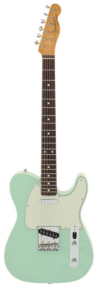 Surf Green Pearl Telecaster - The classic Standard Tele, double single coil pickups.