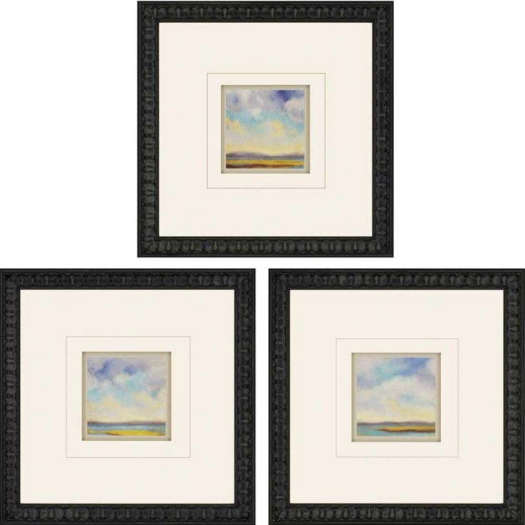Tranquility by Nicoll 3 Piece Framed Art Set