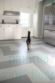 The 25 best Painted vinyl floors ideas on Pinterest