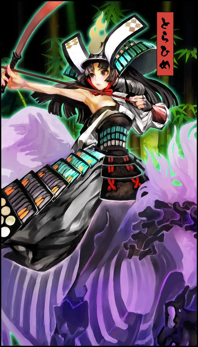 Torahime Artwork - Characters & Art - Muramasa: The Demon Blade