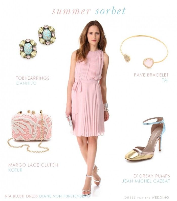 Cocktail Dress for a June Wedding | Pink Dress for a wedding guest
