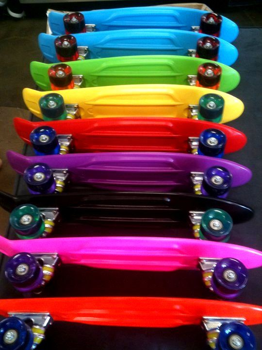 my familys new obsession. we rock the penny boards. <3