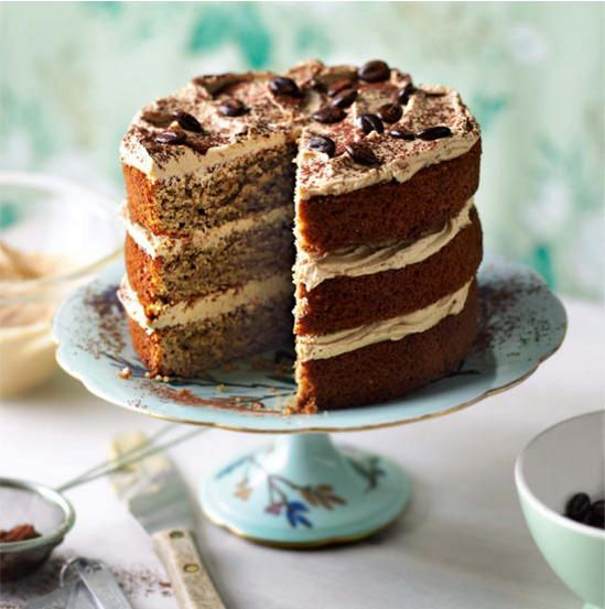 All-in-one-cappuccino cake Recipe... Coffee and cake is a marriage no sweet tooth can resist. Indulge in a home-baked caffeine hit...