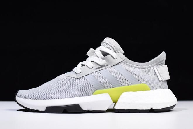 2018 adidas POD-S3.1 Grey Shock Yellow-White B37363 785ac1c25