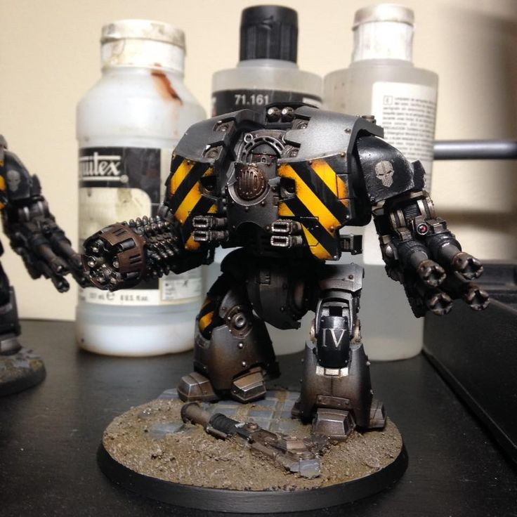 Amazing Leviathan Dreadnought By Mark Filsy Phillips of 30K Iron Warriors Players Facebook group