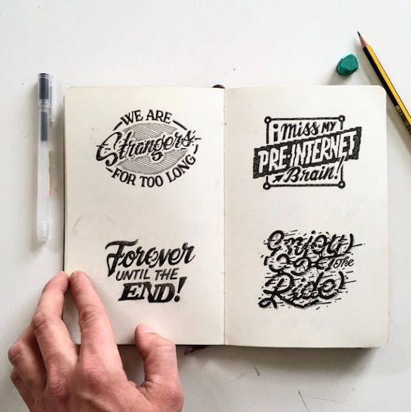 Artist's Beautiful Illustrations Are Filled With Oxymoronic Quotes - DesignTAXI.com