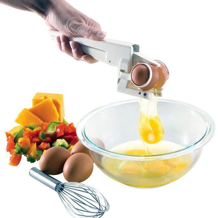 Honana Egg Cracker Egg Separator 2 In 1 Egg Strainer Multifunction Kitchen  Tools