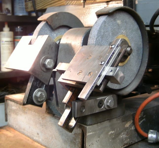 Homemade Bench Grinder Tool Rest Google Search Metal