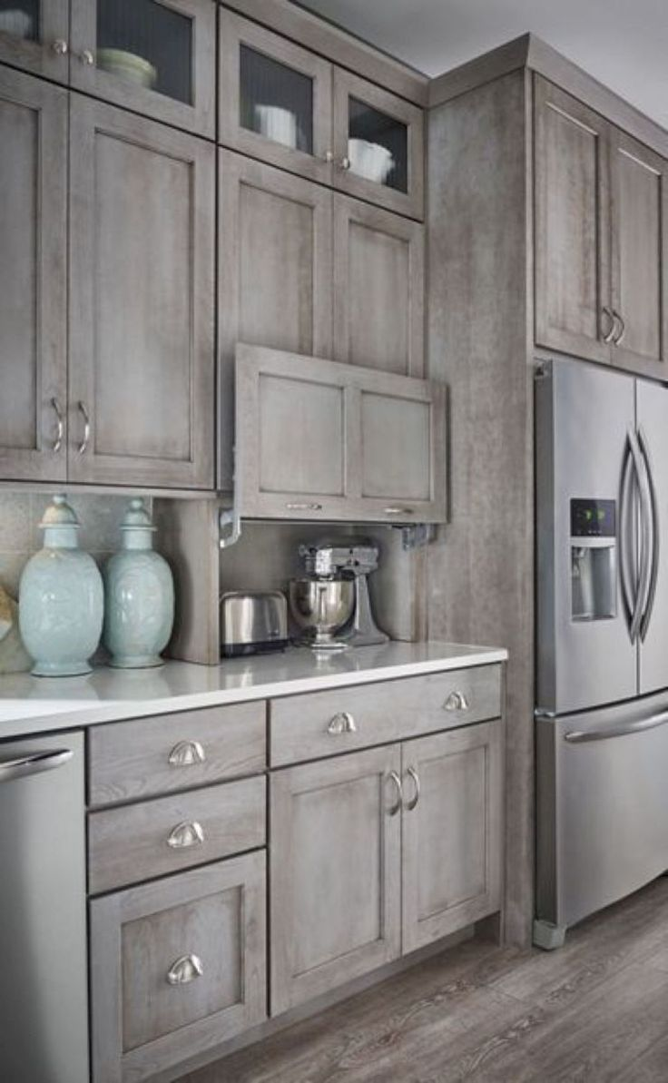 23 Rustic Farmhouse Kitchen Cabinets Ideas