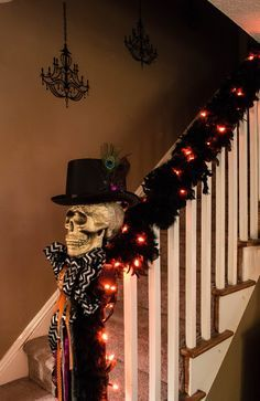 58 Best Halloween Staircase Stairs Images On Pinterest