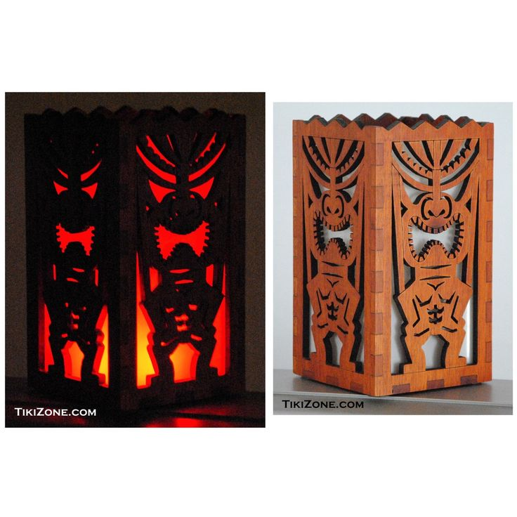 Tiki Bar Table Top Light Box – TikiZone