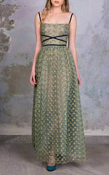 Luisa Beccaria Pre Fall 2016 Look 26 on Moda Operandi