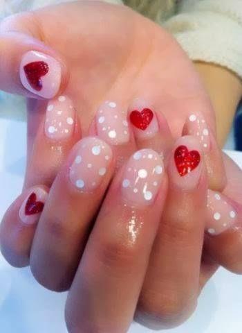 valentine's day #nails