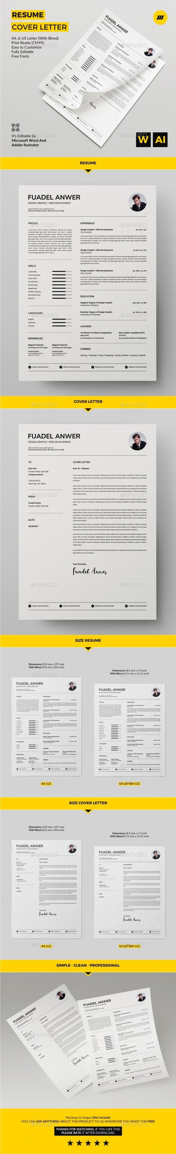 253 best Resume images on Pinterest | Resume templates, Resume ...