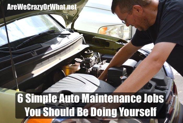 6 Simple Auto Maintenance Jobs You Should Be Doing Yourself via @sreliantschool