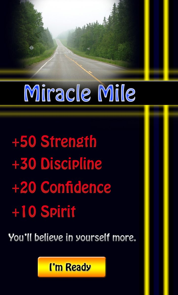 This quest will challenge you. It's a simple task but it's not easy. However, the rewards are great. I'll give you a hint: it has to with waking up early and running a mile. Take this quest for a huge boost in life. Click here to get the quest briefing: http://align-mentality.com/quest-miracle-mile/  #miraclemile #strength #discipline #confidence #spirit #quest #mission